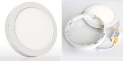 Фото1 563/. Светильник светодиодный потолочный, круглый накладной, 2 в 1 Wall Light Plastic, 220В, 18 Вт,