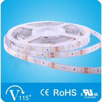 Фото1 RN68C0TA-B-DW - LED лента, 120х SMD 2835, 12VDC, 8.6 Вт/м, белый-нейтральный (4000К), IP65