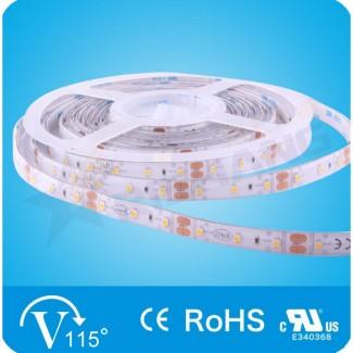 Фото1 RN6060TA-A-DW - LED лента, 60х SMD 2835, 12VDC, 12 Вт/м, белый-нейтральный (4000К), IP65