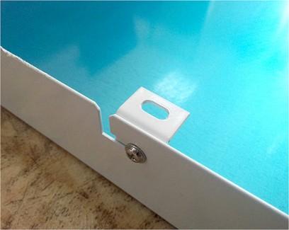 Фото2 610/1 Накладная квадратная LED-панель Panel Box, 36W, 600x600