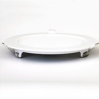 Фото2 738/. Светильник светодиодный потолочный, круглый врезной, Down Light Plastic с каемкой, 12 Вт, ф169