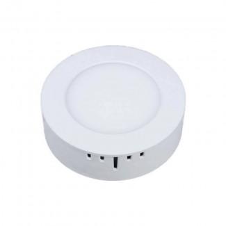 Фото1 761/. Светильник светодиодный потолочный, круглый накладной, 2 в 1 Wall Light Plastic с каемкой, 6 В