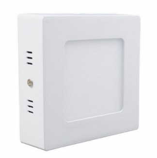 Фото1 764/. Светильник светодиодный потолочный, квадратный накладной, 2 в 1 Wall Light Plastic с каемкой,