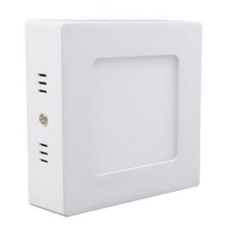 Фото1 766/. Светильник светодиодный потолочный, квадратный накладной, 2 в 1 Wall Light Plastic с каемкой,