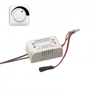 Фото1 Драйвер диммируемый для Microspot HAD-01 (3.0-8.0В,700ma)