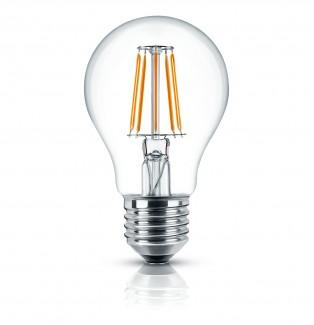 Фото1 SLL E27-A60-5W - LED лампа филамент, 5W, тип A60, цоколь E27, круглая
