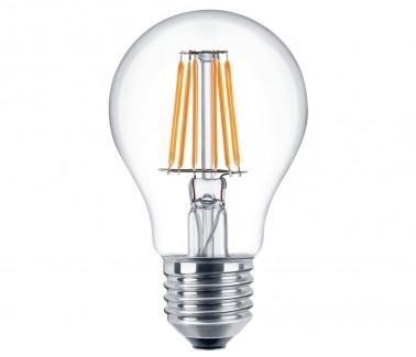 Фото1 SLL E27-A60-7.5W - LED лампа филамент, 7.5W, тип A60, цоколь E27, круглая