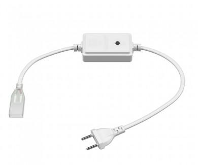 Фото3 LED лента 220V STANDART №15 - SMD3014, 120 д/м, 5.5W, белый нейтральный, IP65 + комплектующие