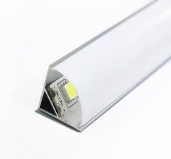 Фото4 ПФ №9 УПМ - LED профиль угловой 16*16 (комплект)