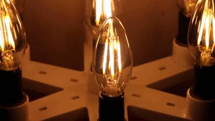 Фото6 SLL E14-C35-4W - LED лампа филамент, 4W, тип С35, цоколь E14, свеча