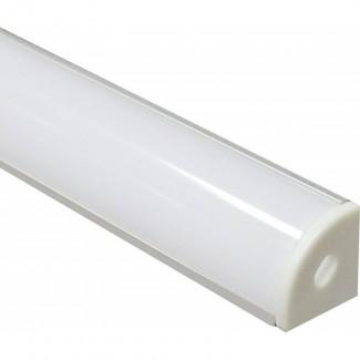 Фото3 ПФ №9 УПМ - LED профиль угловой 16*16 (комплект)