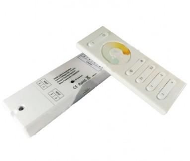 Фото1 MWS 2-120 - Контроллер мультибелых лент+ДУ (12-24V, 2x5A)