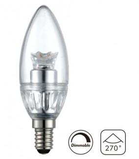 Фото1 LED лампа CIVILIGHT C35 E14-4W Cristall Crown
