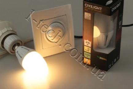 Фото3 LED лампа CIVILIGHT CV E14-6W Flora candle