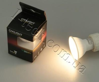 Фото6 LED лампа CIVILIGHT GU10-5W-VCR
