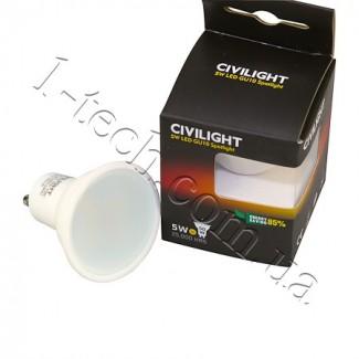 Фото2 LED лампа CIVILIGHT GU10-5W-VCR
