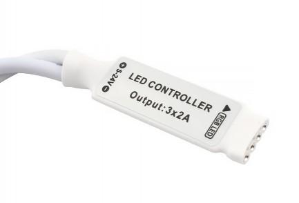Фото2 LT-CTR21/1 - RGB mini контроллер, 6А + ИК пульт 24 кнопки