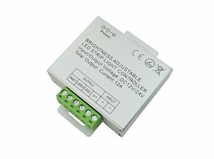 Фото2 LT-DIM56 - диммер 1-канал, 12А, 12V, сенсорный радио-пульт