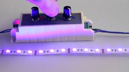Фото2 D3-RGB - RGB контроллер ручной (12-24VDC, 3x3A)