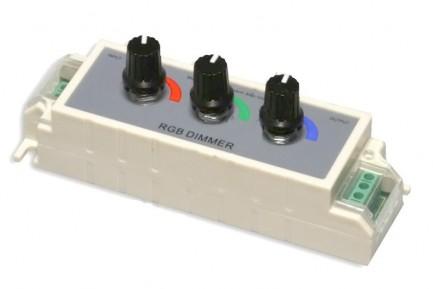 Фото1 D3-RGB - RGB контроллер ручной (12-24VDC, 3x3A)