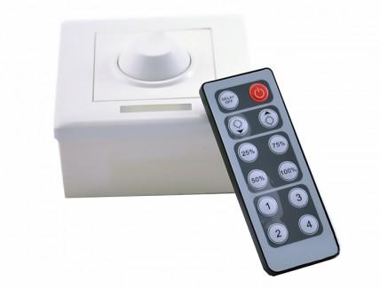 Фото1 LT-DIM50 - диммер 1-канал, 8А, 12V, ИК пульт