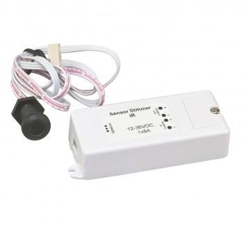 Фото1 Dimmer IR-sensor ИК-сенсорный диммер, 12-36VDC, 8A