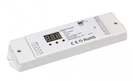 Фото1 Коммутатор сигнала DMX 512 Switch 12-36VDC