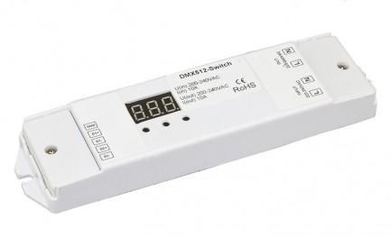 Фото1 Коммутатор сигнала DMX 512 Switch 220VAC
