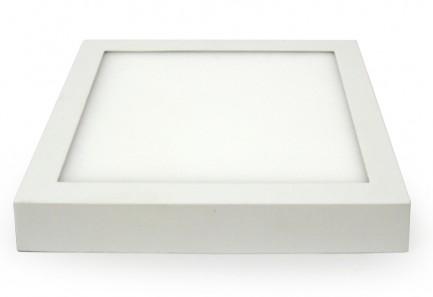 Фото2 466/. Светильник светодиодный потолочный, квадратый накладной, Wall Light, 220В, 18 Вт, 240мм