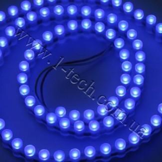 Фото1 DWF2-B - Экономичная LED лента бокового свечения, 96 диодов, цвет - синий, 470 нм, IP67