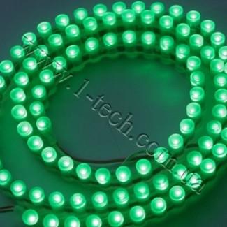 Фото1 DWF-G - Зелёная LED лента бокового свечения, 96 диодов, 525 нм, IP67
