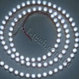Фото1 DWF-W - Белая холодная LED лента бокового свечения, 96 диодов, 6000К, IP67