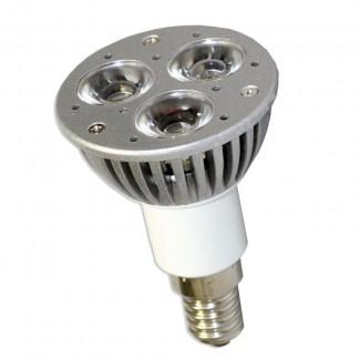 Фото1 LED лампа E14-3х1W