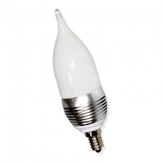 Фото1 LED лампа E14-3W candle
