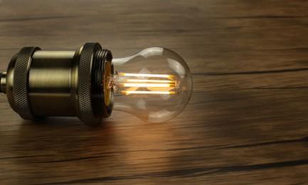 Фото5 SLL E27-G45-4W - LED лампа филамент, 4W, тип G45, цоколь E27, круглая