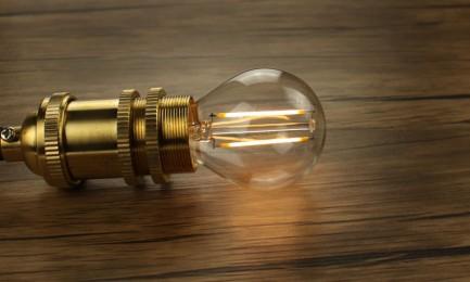 Фото4 SLL E14-G45-2W - LED лампа филамент, 2W, тип G45, цоколь E14, круглая