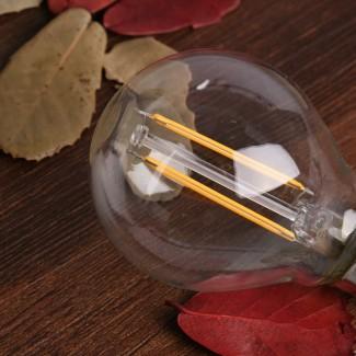 Фото6 SLL E14-G45-2W - LED лампа филамент, 2W, тип G45, цоколь E14, круглая