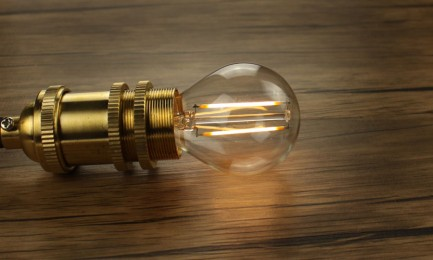Фото5 SLL E14-G45-4W - LED лампа филамент, 4W, тип G45, цоколь E14, круглая