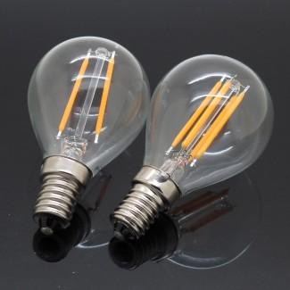 Фото5 SLL E14-G45-3W - LED лампа филамент, 3W, тип G45, цоколь E14, круглая