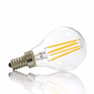 Фото2 SLL E14-G45-4W - LED лампа филамент, 4W, тип G45, цоколь E14, круглая