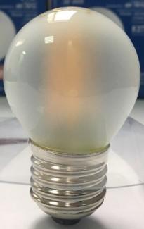 Фото3 SLL E27-G45-4W - LED лампа филамент, 4W, тип G45, цоколь E27, круглая