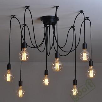 Фото5 SLL E27-G80-8.5W - LED лампа филамент, 8.5W, тип G80, цоколь E27, круглая шарообразная