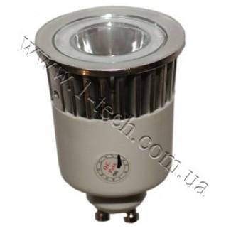 Фото1 LED лампа GU10-1х5W (white) 220AC