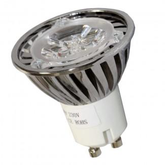 Фото1 LED лампа GU10-3х1W