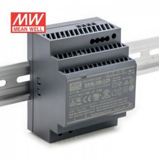 Фото1 HDR-100-12N - Блок питания на DIN-рейку, 12V, 100 Вт, 7.5А