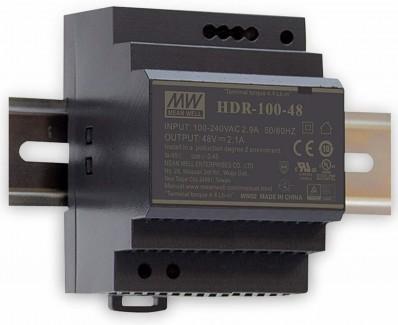 Фото1 HDR-100-24N - Блок питания на DIN-рейку, 24V, 100 Вт, 2.5А
