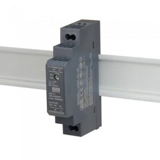 Фото4 HDR-15-12 - Блок питания на DIN-рейку, 12V, 15 Вт, 1.25А