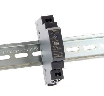 Фото1 HDR-15-12 - Блок питания на DIN-рейку, 12V, 15 Вт, 1.25А