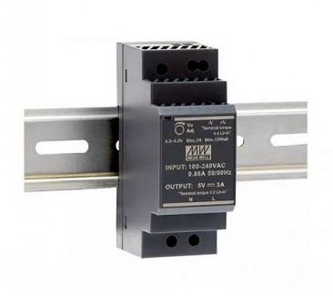 Фото1 HDR-30-12 - Блок питания на DIN-рейку, 12V, 30 Вт, 2А