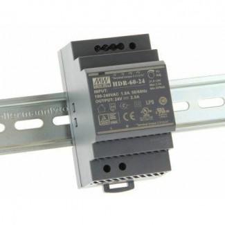 Фото1 HDR-60-24 - Блок питания на DIN-рейку, 24V, 60 Вт, 2.5А